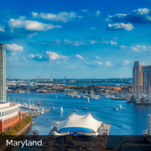 Maryland city waterfront