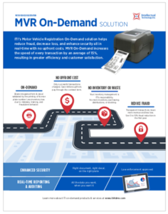 Click to view the MVR On-Demand Solution Sheet