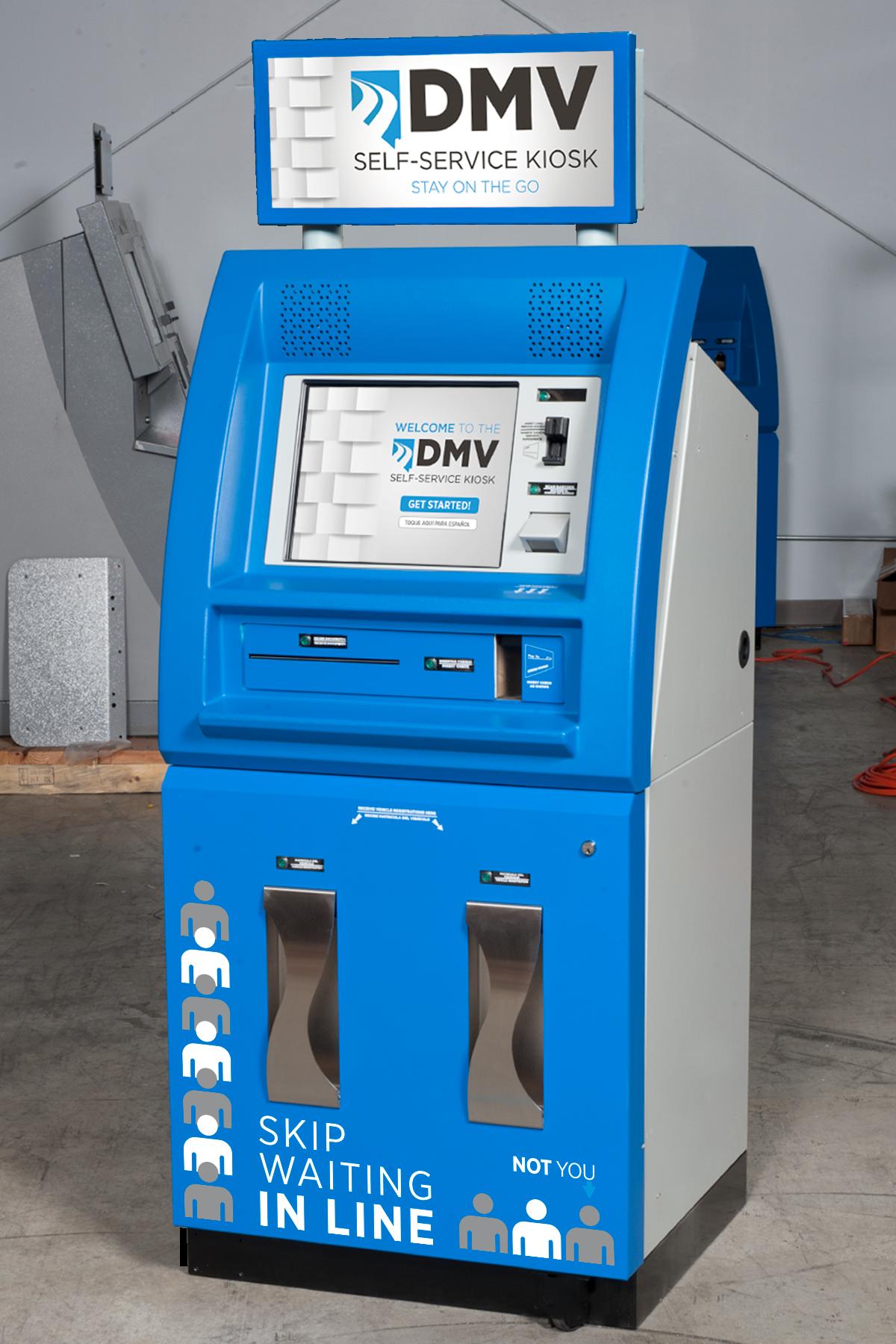 Nevada DMV Now kiosk