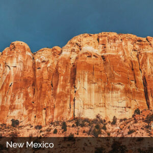 New Mexico red cliffs