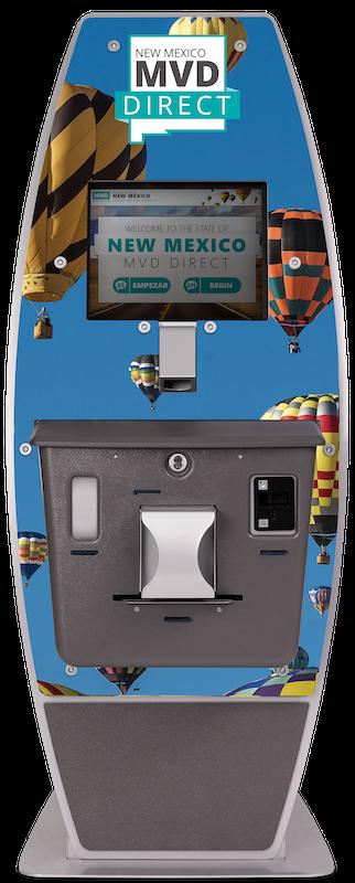 New Mexico kiosk