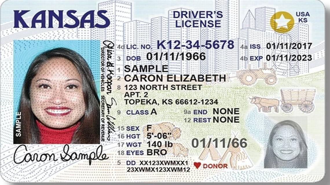 Kansas license