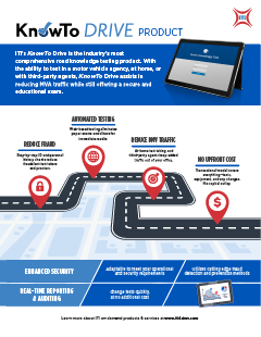 KnowTo Drive Product Info Sheet