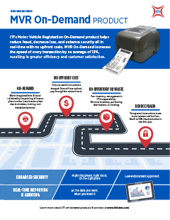 MVR On-Demand product sheet thumbnail